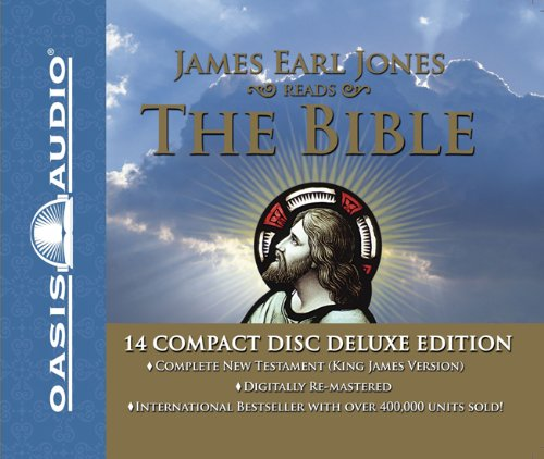 James Earl Jones Reads the Bible-KJV-New Testament: James Earl Jones