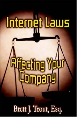 9781589397293: Internet Laws Affecting Your Company