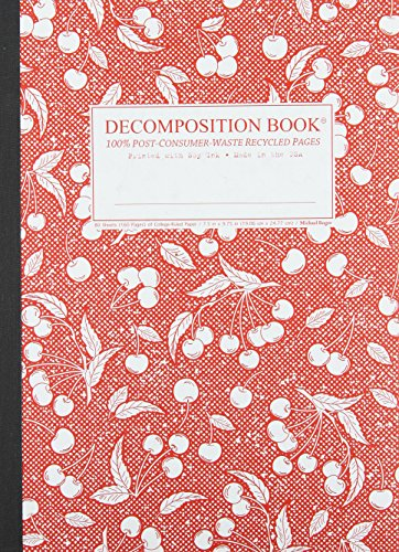 9781589449381: Sour Cherry Decomposition Book: College-ruled Composition Notebook With 100% Post-consumer-waste Recycled Pages
