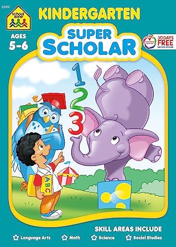 Kindergarten Super Scholar Workbook: Marilee R. Burton,