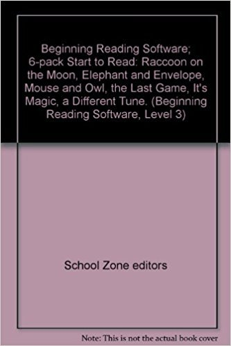 Beginning Reading Software; 6-pack Start to Read: School Zone editors