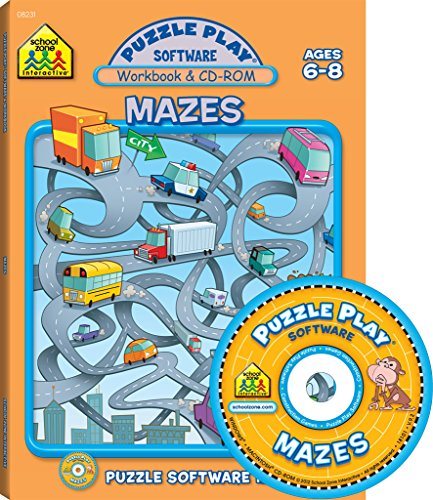 9781589473003: Mazes: Puzzle Play Software, Ages 6-8