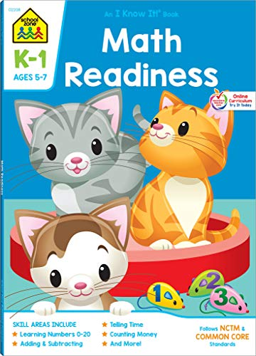Workbooks-Math Readiness Grades K-1: Joan Hoffman and