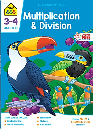 9781589473294: Multiplication & Division Grades 3-4