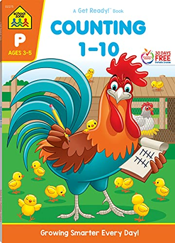 9781589473485: Counting 1-10 Deluxe Edition Workbook