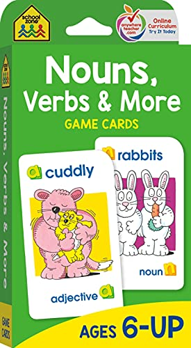 9781589474208: Nouns, Verbs And More: Game Cards
