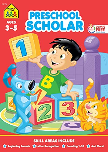 9781589474543: Preschool Scholar Workbook Ages 3-5