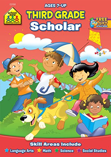 9781589474581: Third Grade Scholar Workbook Ages 7 and Up
