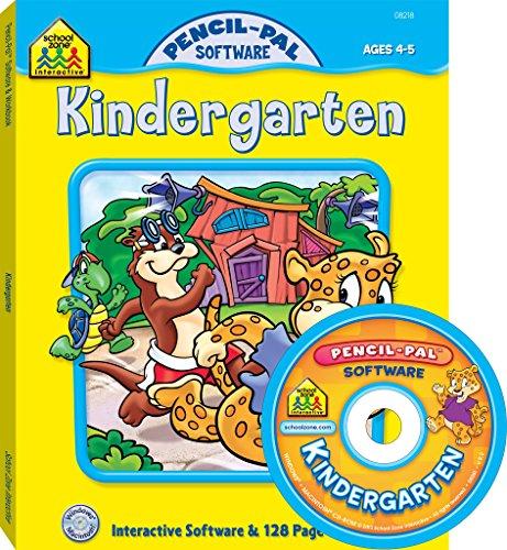 Kindergarten: Ages 4-5 (Pencil-Pal Software): Burton, Marilee Robin;