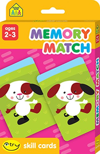 Memory Match Skill Cards 9781589477773 Boost your child's get-ready-to-read, visual perception. These Memory Match I Try Skill Cards are a fun and easy way to help toddlers an