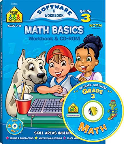 9781589478039: Math Basics Grade 3 (School Zone)