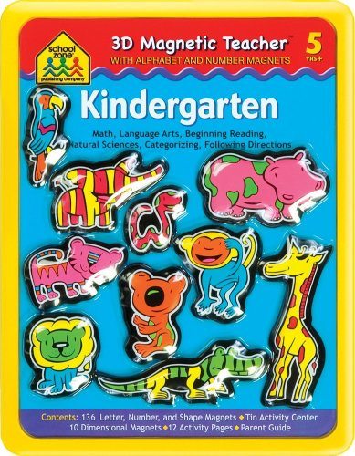 9781589478411: Kindergarten Magnetic Tin