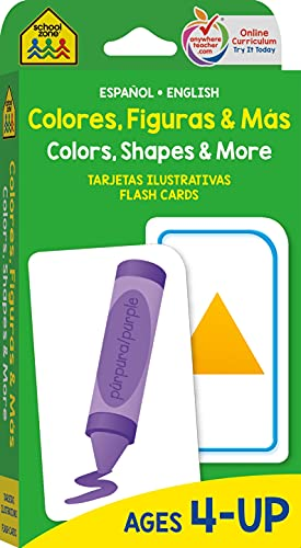 9781589479883: Colors, Shapes and More Flash Cards - Bilingual (Spanish Edition)