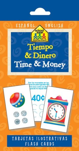 9781589479906: Time and Money Flash Cards (Spanish Edition)