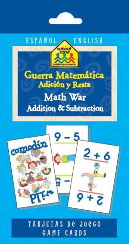 Math War Addition and Subtraction (Espanol and English) (English and Spanish Edition)