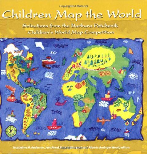Children map the world selections from the barbara petchenik children map the world selections from the barbara petchenik childrens world map competition gumiabroncs Images