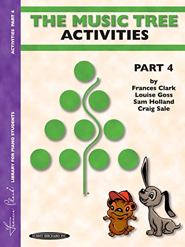 9781589510067: The Music Tree Activities Book: Part 4 (Music Tree (Warner Brothers))