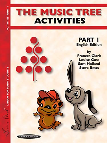 9781589510210: The Music Tree Activities, Part 1 (Music Tree (Summy))