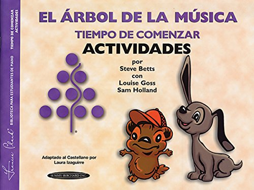 9781589510272: The Music Tree Activities Book: Time to Begin (Tiempo de Comenzar) (Actividades) (Spanish Language Edition) (The Music Tree Series) (Spanish Edition)