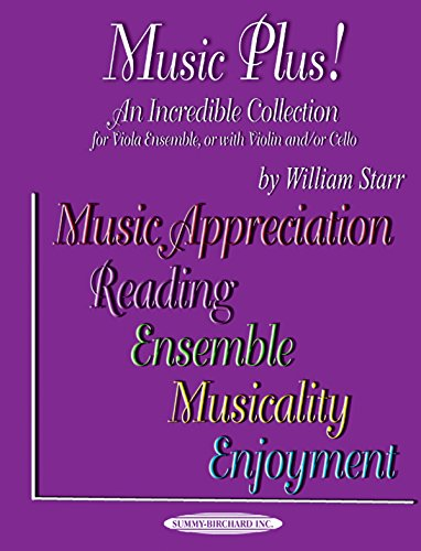 9781589511408: Music Plus! An Incredible Collection: Viola Ensemble, or with Violin and/or Cello