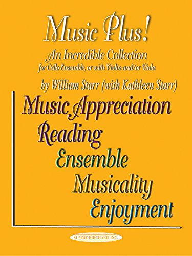 9781589511415: Music Plus! An Incredible Collection: Cello Ensemble, or with Violin and/or Viola