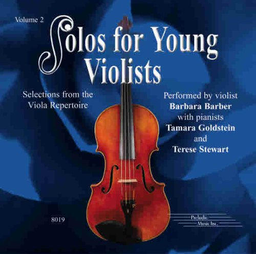 9781589511903: Solos for Young Violists CD, Volume 2