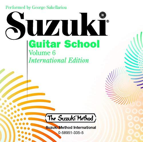 9781589513358: Suzuki Guitar School, Vol 6