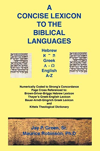 9781589603080: A Concise Lexicon to the Biblical Languages