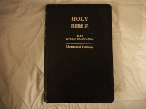 9781589604056: Holy Bible KJ3 Literal Translation Memorial Edition