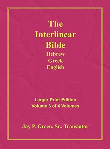 Interlinear Hebrew Greek English Bible-PR-FL/OE/KJV Large Print: Green, Jay Patrick