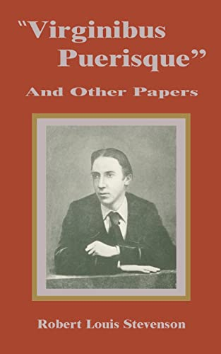 9781589637689: Virginibus Puerisque and Other Papers