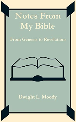 Notes From My Bible (1589639561) by Dwight L. Moody