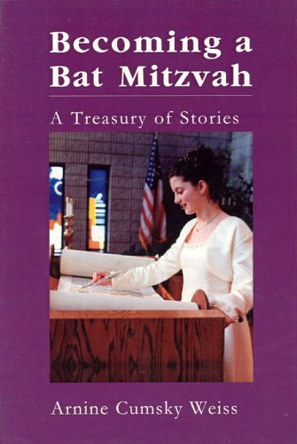 9781589660748: Becoming a Bat Mitzvah: A Treasury of Stories
