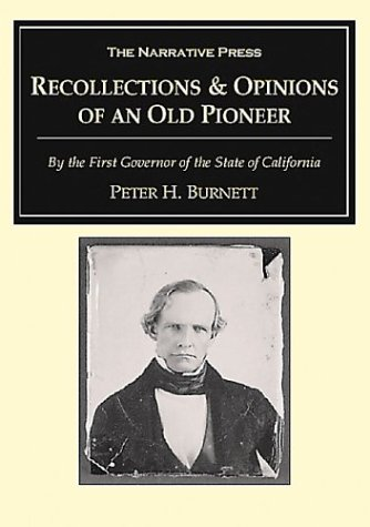 9781589762565: Recollections and Opinions of an Old Pioneer