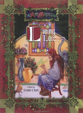 9781589780484: Living Lore (Ars Magica)