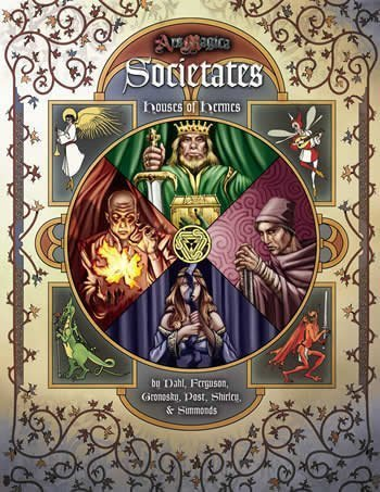 9781589780965: Houses of Hermes: Societates (Ars Magica Fantasy Roleplaying)