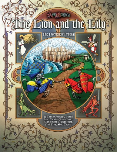 9781589781009: The Lion and the Lily (Ars Magica)