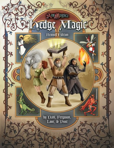 9781589781047: Hedge Magic Revised Edition (Ars Magica Fantasy Roleplaying)