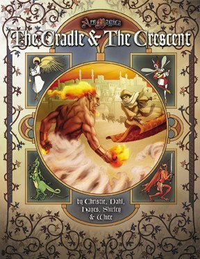 9781589781238: The Cradle and the Crescent (Ars Magica)