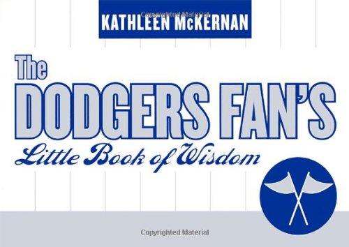 9781589792579: The Dodgers Fan's Little Book of Wisdom