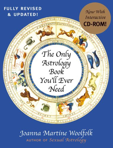 9781589793101: The Only Astrology Book You'll Ever Need: With an Interactive CD-ROM