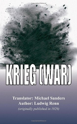 Krieg (War): Ludwig Renn; Translated