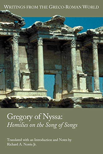 9781589831056: Gregory of Nyssa: Homilies on the Song of Songs (Writings from the Greco-Roman World)