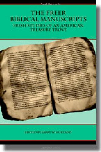 9781589832084: The Freer Biblical Manuscripts: Fresh Studies of an American Treasure Trove (Text-Critical Studies) (Archaeology and Biblical Studies)