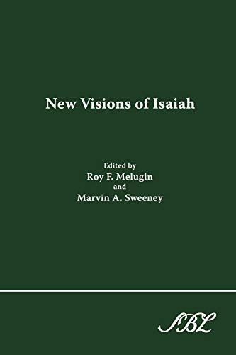 9781589832398: New Visions of Isaiah (Journal for the Study of the Old Testament Supplement Series, 214)