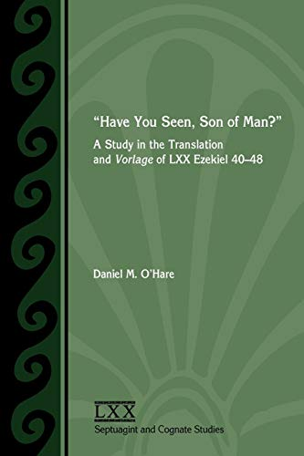 Have You Seen, Son of Man? : Daniel M. O