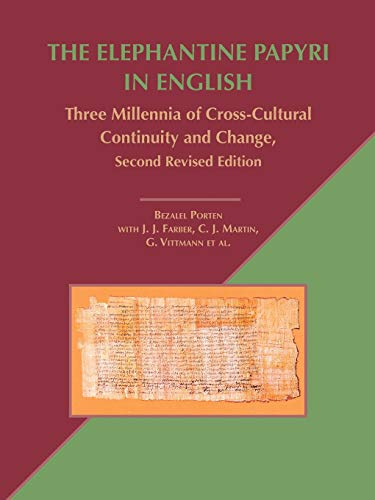 9781589836280: The Elephantine Papyri in English: Three Millennia of Cross-Cultural Continuity and Change