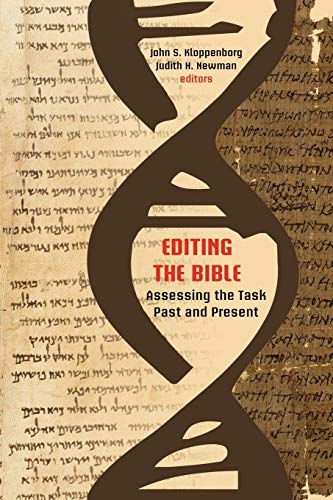 9781589836488: Editing the Bible: Assessing the Task Past and Present (Resources for Biblical Study) (Society of Biblical Literatur resources of biblical study)