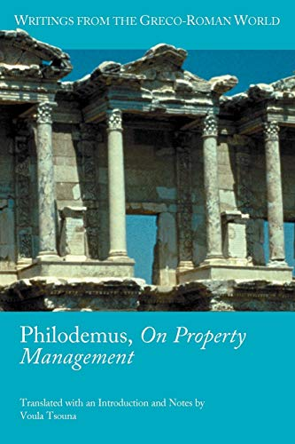 9781589836679: Philodemus, On Property Management: 33