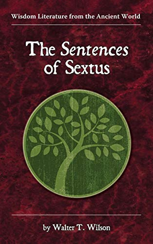 9781589837270: The Sentences of Sextus (Wisdom Literature from the Ancient World)